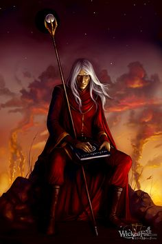 Raistlin Majere - Dragonlance Series by Margaret Weis and Tracy Hickman