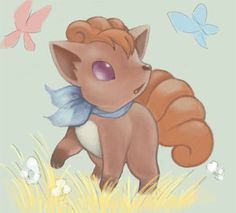 Pokemon #37- Vulpix