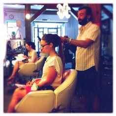 WOMANWORD en el Taller de peinado en #juanpordios!