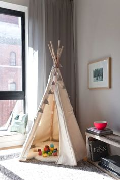 Children's TeePee in the Living Room | cultfurniture.com Vilac Teepee