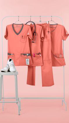 New colors and prints available at Scrubs Outfit, Scrubs Uniform, Nursing Wear, Nursing Clothes, Yoga Scrub Pants, Cute Scrubs, Medical Uniforms, Womens Scrubs, Medical Scrubs