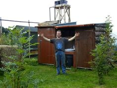 Build a Compost Toilet, Ladies Urinal & Solar Shower from Recycled Materials
