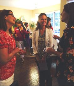 Great crowd of women today in Roswell! Talking #education quality of life and the future of Georgia. - Kate