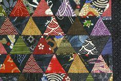 Mini quilts tissus japonais