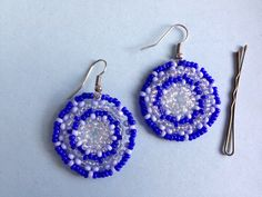 Orecchini in perline indiane / Beads earrings