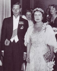 King George IV and Queen Elizabeth