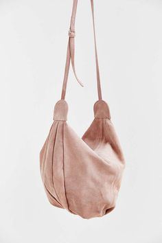 Ecote Knotted Suede Hobo Bag - Urban Outfitters