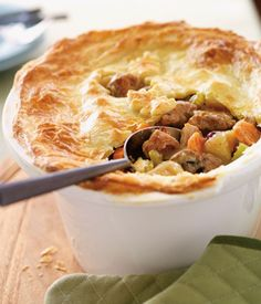 Slow Cooker Turkey and Cranberry Pot Pie