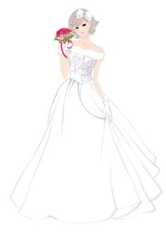 Фотография Dress Illustration, Wedding Illustration, Wedding Images, Wedding Cards, Dream Wedding Dresses, Bridal Dresses, Pattern Art, Pattern Design, Z Photo