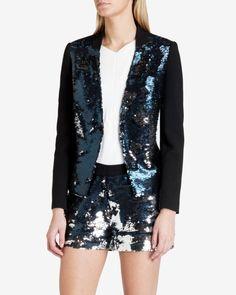 PEROLA Sequin blazer £229 £129