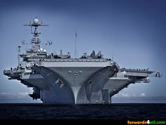 Scary looking yet oh so beautiful at the same time.  USS George Washington (CVN 73) super-carrier...