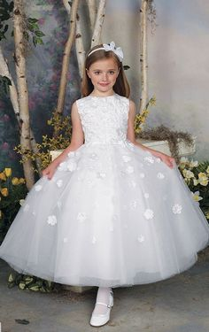 Natural Ball Gown Tulle Ankle-length Sleeveless Bridesmaid Dresses_1