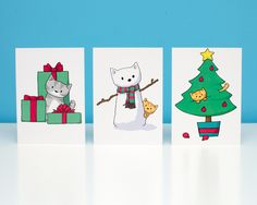 DoodleCats - Christmas Cat Scenes