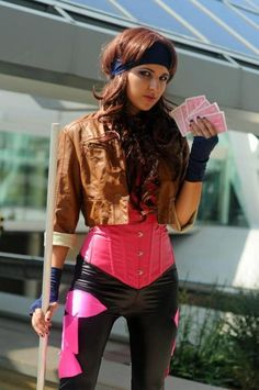 Cosplay Ideas Female Gambit cosplay OMG I must do this when I'm thinner and more fit. Gambit is too awesome - It's that time of the week when we post a mixed bag of intriguing cosplay we've spotted recently. Some sexy, some funny, and some awesome. Cosplay Outfits, Cosplay Girls, Cosplay Costumes, Cosplay Ideas, Costume Ideas, Cosplay Style, Gambit Cosplay, Marvel Cosplay, Comic Con Costumes
