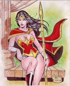 Wonder Woman (#10) by Rodel Martin by VMIFerrari.deviantart.com on @deviantART