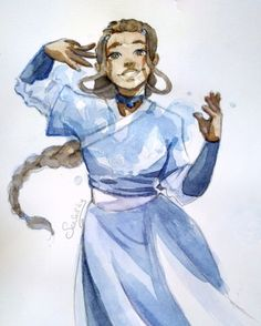 katara | Tumblr Avatar Airbender, Avatar Aang, Avatar Cartoon, The Last Airbender Cartoon, Zuko, Legend Of Korra, Movies Showing, Female Characters, Anime Couples
