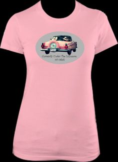 This super soft T-shirt comes in Your choice of White or Pink. Available in sizes Small-XXL (T-shirts tend to run a touch Small). Available for $29.95 Please Leave SIZE, SHIRT COLOR, & PAYPAL EMAIL IN THE COMMENTS SECTION WHEN PLACING AN ORDER!