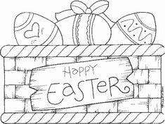 free primitive rooster wood patterns   Free Easter basket craft ideas - Easter wood crafts!