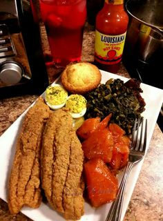 That's that soul food Snack Recipes, Cooking Recipes, Snacks, Shrimp Recipes, Food Porn, Brunch, Food Goals, Food Cravings, Dessert
