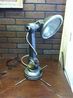 Ford aluminum auto lamp