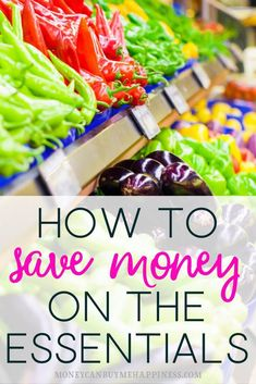 Struggling to find more ways to save when your budget is already tight? These tips will show you how to save money on the essentials so you can focus on getting your finances back on track. save money | cut grocery expenses | budgeting tips