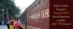 One of India's leading tour and travel operators, Indian Holiday, also 2 time winner of National Tourism Awards by Ministry of Tourism, Government of India, will run two private charters of Maharajas' Express on 03th August & 10th august 2014. The private charter journey called the Golden Triangle Journey comprises of three major destinations of …