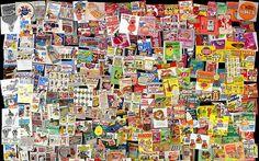 Coverpop - Cool Flickr Toy - krazy kid's food (Retro Food Packaging) by SA_Steve, via Flickr