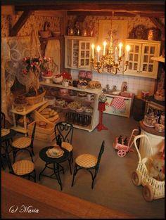 Maria's Miniatures: Dollhouse Väinölä