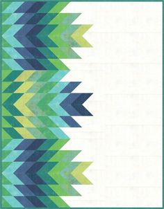 Quill Quilt Pattern