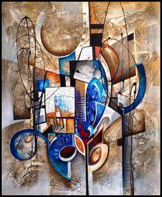 K abstract painting by Amytea on DeviantArt Easy Canvas Painting, 3d Painting, Watercolor Paintings, Canvas Art, Cubism Art, Africa Art, Modern Art Paintings, Calligraphy Art, Community Art