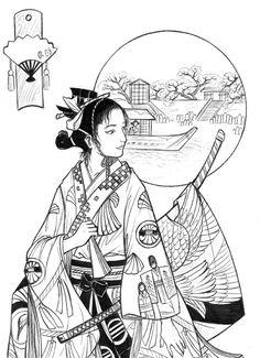 Samurai by Autumn-Sacura.deviantart.com on @deviantART