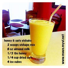 honey & oats vishake recipe. start your #90daychallenge and start your #weightloss today at www.startachallengetoday.myvi.net.
