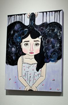 Disney Characters, Fictional Characters, Art Gallery, Students, Presents, Disney Princess, Artwork, Artist, Gifts