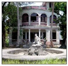 A stone house, it is the oldest house in Tiaong, Phillipines, but long abandoned ...horrific ghost stories too...click on the link for the full story.
