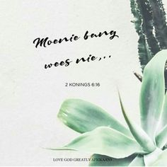 Donderdag - Klein Weermag, Groot Oorwinning Lees: Josua 11:3-10; 2 Konings 6:16-17 SOAP: 2 Konings 6:16 Vir verdere leeswerk - Josua 11:1-2; 11-23 16 Love, Godly Woman, Gods Love, Soap, Quotes, Quotations, Love Of God, Qoutes, Quote