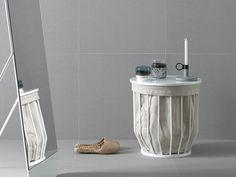 Bowl Basket Stool von Inbani | Wäschebehälter / Wäschekörbe