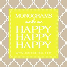 13 Best Monogram Quotes & Sayings images | Monogram ...