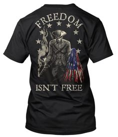 Artwork by dendorrity   Dedicated to true American patriotism and sacrifice. Paying tribute to the American Minutemen who fought in the American Revolution for our freedom. We declared independence in 1776 and have fought relentlessly since then to maintain our freedom. This shirt is for true American patriots.For those who put their lives on the line for this country and would give everything they have to defend it.