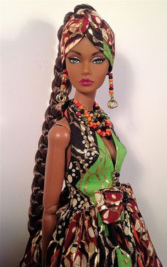 poppyparker | by RFB Designs by Peggy African Dolls, African American Dolls, Beautiful Barbie Dolls, Pretty Dolls, Fashion Royalty Dolls, Fashion Dolls, Art Noir, Diva Dolls, Poppy Parker