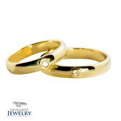 Set verighete cu Diamant PAL-VEG-010 Charms, Wedding Rings, Jewels, Beads, O Beads, Engagement Rings, Jewelery, Beading, Jewelry