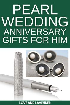 If youre looking for the perfect gift for your husband, we got you! It seems fitting then that the traditional gift for the 30th wedding anniversary is all things pearl jewelry! Catch them all here! #weddinganniversary #weddinganniversarygiftguide #30thweddinganniversary