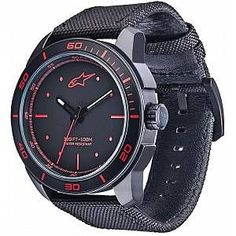 Reduced wristwatches- Reduzierte Armbanduhren Alpinestars Tech Matte Black Wristwatch Blue One size AlpinestarsAlpinestars - Tiffany Jewelry, Opal Jewelry, Emporio Armani, Nylons, Jewelry Quotes, Wearable Device, Tiffany And Co, Cute Jewelry, Stainless Steel Case