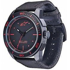 Reduced wristwatches- Reduzierte Armbanduhren Alpinestars Tech Matte Black Wristwatch Blue One size AlpinestarsAlpinestars -