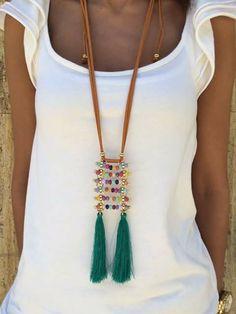 Boho Necklace, Beaded Earrings, Boho Jewelry, Fashion Necklace, Handmade Jewelry, Necklaces, Boho Chic, Jewelry Making, Pendants