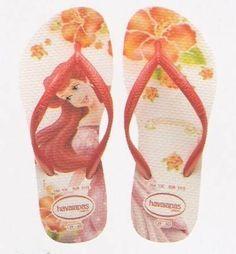 disney havaianas...Ariel!  so cute :)