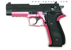 I want this gun!! but i wish the pink was purple or teal!