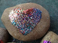 Simple Painted Rocks | Giveaway winner is Danielle of Simmworks Family Blog ! Congratulations ...