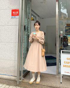 Apostolic Fashion, Modest Fashion, Korean Dress, Korean Style, Cute Casual Outfits, Dress Ideas, Spring Summer Fashion, Korean Fashion, Vogue