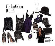 """Undertaker coture"" by ekearley ❤ liked on Polyvore featuring BCBGMAXAZRIA, Sam Edelman, MICHAEL Michael Kors, Iron Fist, River Island, Rick Owens, Versace, rag & bone, Zadig & Voltaire and undertaker"