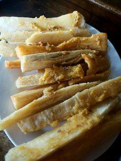 Panama Food: Pictures of Panama food, from empanadas to yuca frita.: Panama Food: Yuca Frita
